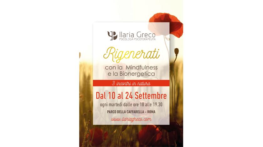 Rigenerati con la Mindfulness e la Bioenergetica - Ilaria Greco